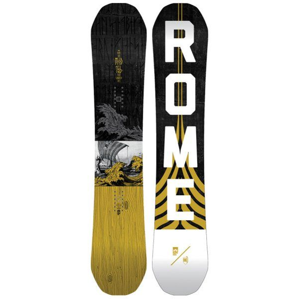 We're crazy about Stale's pro model board, the Rome Mod RK1 2018.