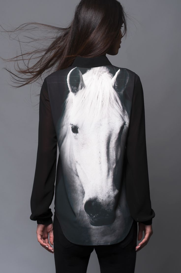"""horse shirt. if I was to wear this shirt to school all my non horsey friends would be like """"that's so weird why would you wear that shirt"""" and I would be like """"I have defriended you, goodbye"""""""