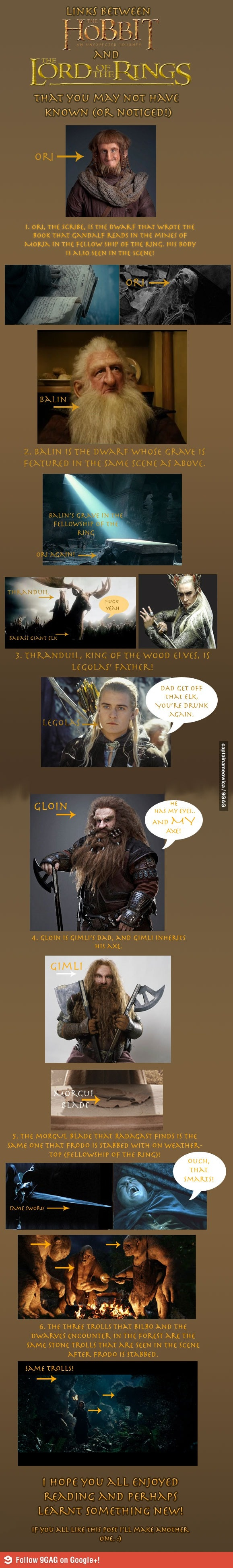The Hobbit/LOTRS