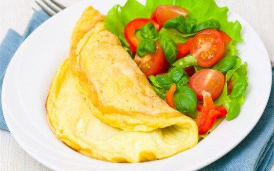 Omeleta ze tří vajec