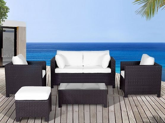 17 best Conversation Patio Sets images on Pinterest Patio sets - rattan gartenmobel braun