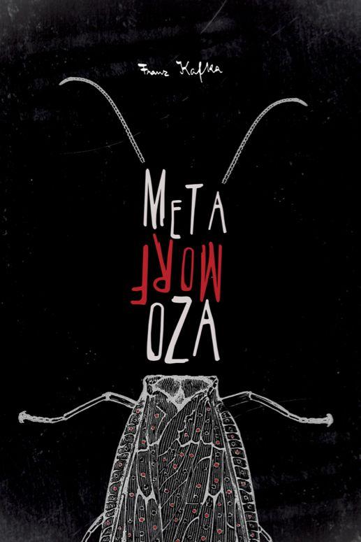 Franz Kafka - Metamorphosis (Book Cover, Illustrations) by Tabi Aziri, via Behance