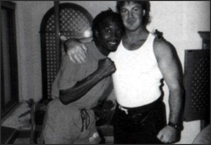 Nigel Benn and Tony Tucker