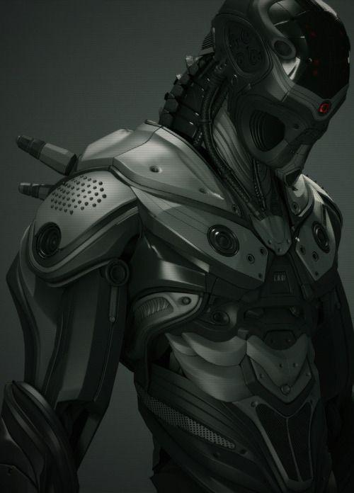 CA01 - UltraVD #cybernetics #robot #armour