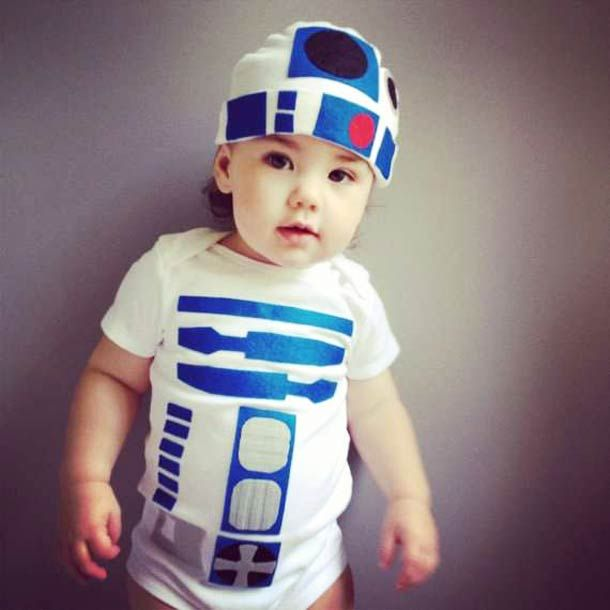 Body Bébé R2-D2 – This is the baby you are looking for