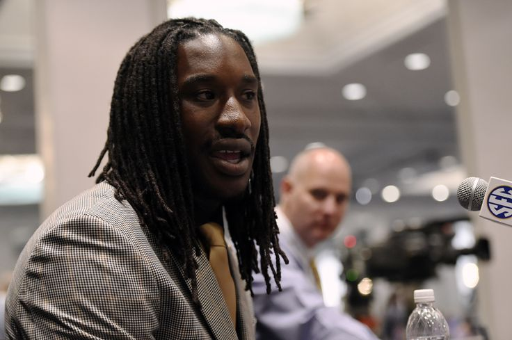 Missouri's Markus Golden at SEC Media Days 2014. ~ Check this out too ~ RollTideWarEagle.com sports stories that inform and entertain and Train Deck to learn the rules of the game you love. #Collegefootball Let us know what you think. #Mizzou #Missouri