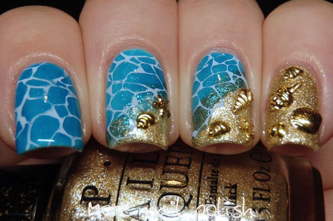 Summer nail art ideas in winter http://miascollection.com