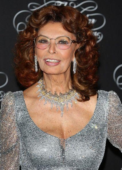 Sophia Loren, November, 2013 - a long time favorite, she's aging beautifully...