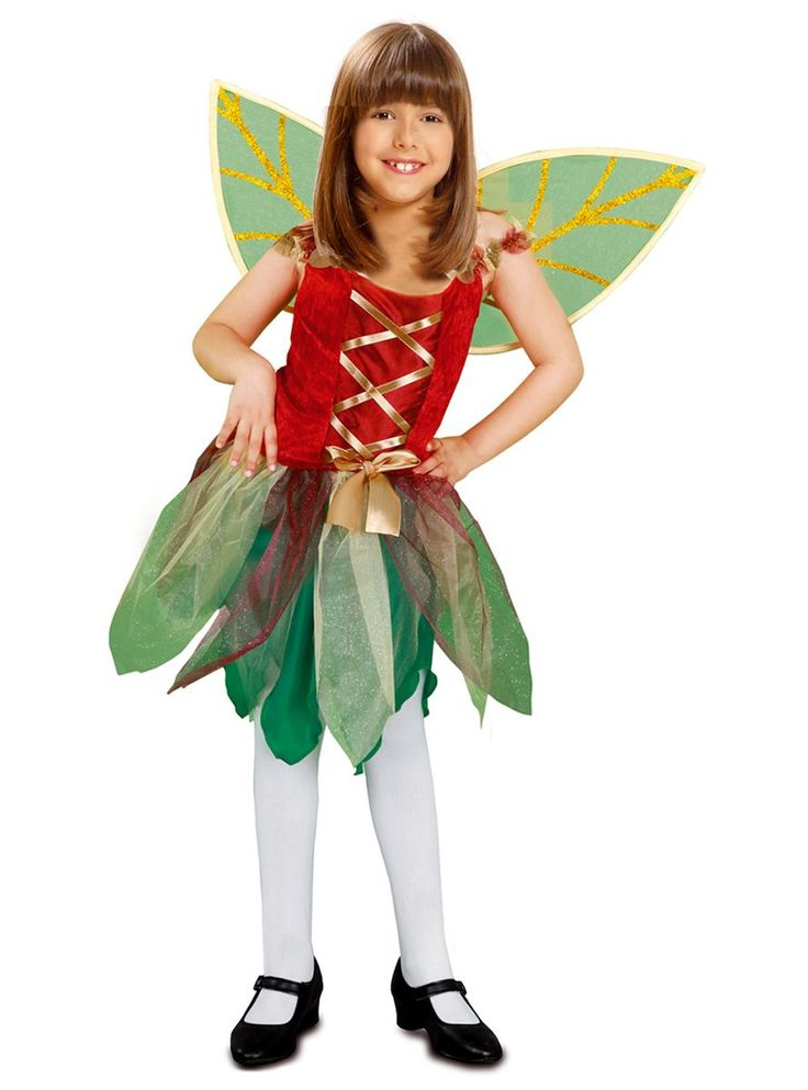 disfraz de hada de los bosques para nia