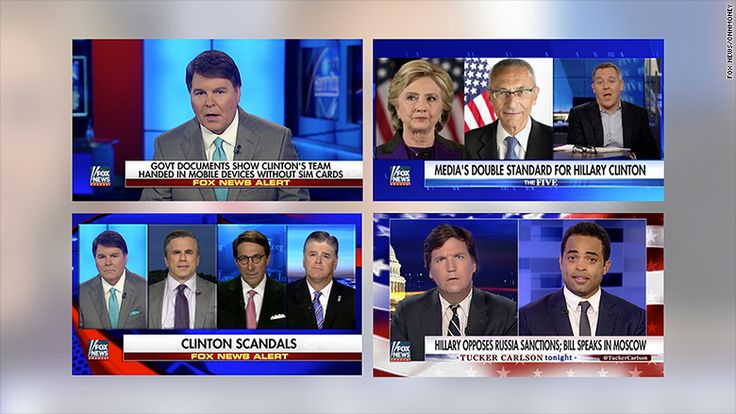 Amid the negative news hanging over President Donald Trump and his administration, a familiar face has been all over the airwaves on Fox News: Hillary Clinton.