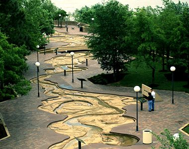 Mud Island Memphis TN. The Mississippi River in miniature, but to scale. So much history, so much information. It takes hours to see all of Mudd Island.