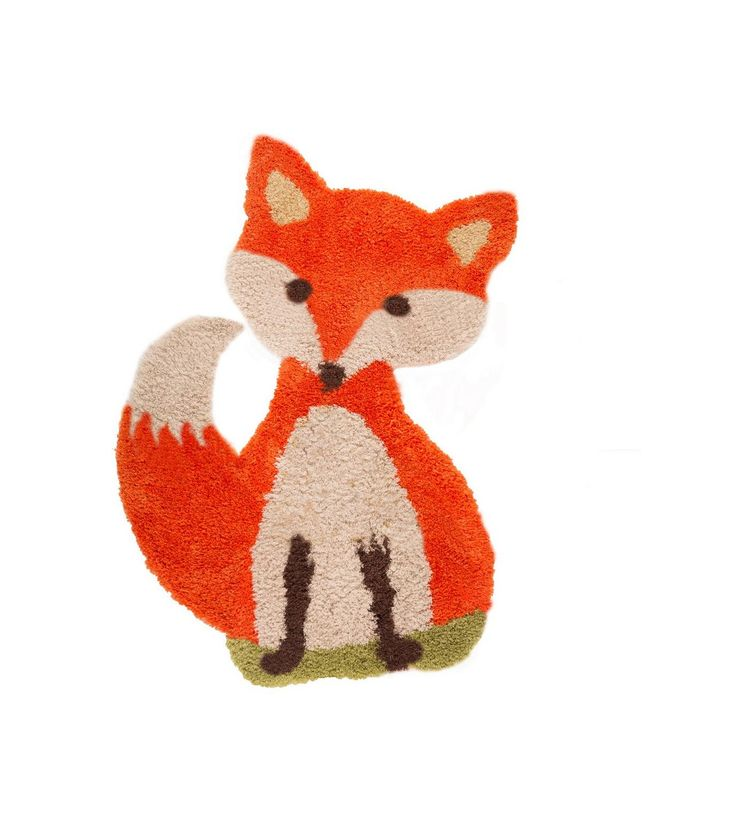 Image for Animals Freddie Fox Brown Rug from studio