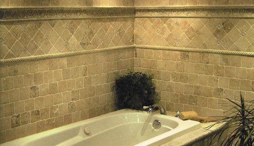 porcelain tile tub surround   Tile Tub Surround   Ceramic Tile and Stone Ideas