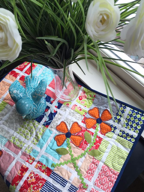 Pretty In Pink Quilt Along – Part 5