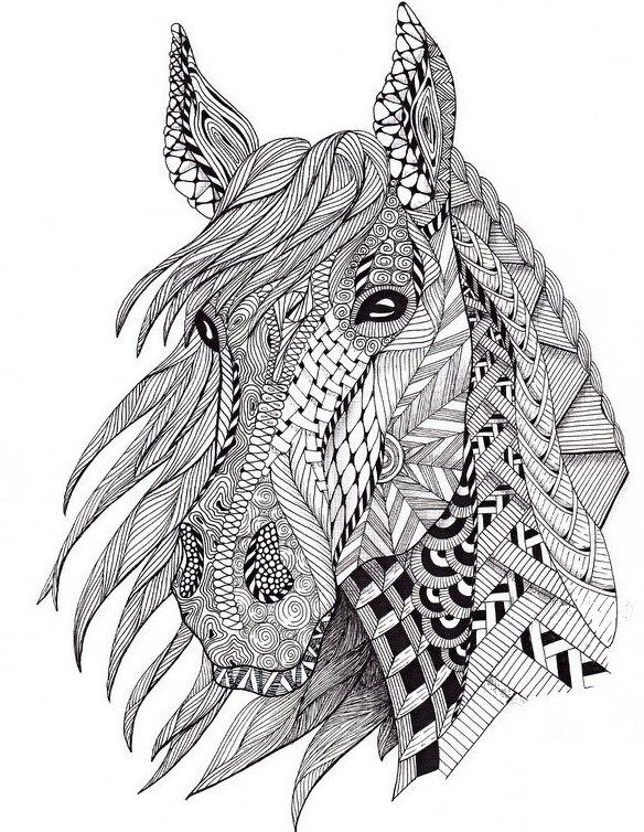 Graceful, aristocratic, noble: these beauties will only become more beautiful if you color them.