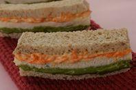 Tricolour Sandwiches