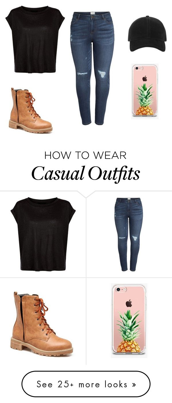 """super casual but comfy oufit!"" by alleighjoy123 on Polyvore featuring Caslon, rag & bone, The Casery and plus size clothing"