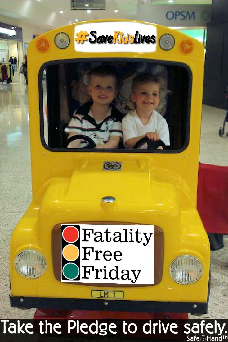 """Friday 29th May 2015 is Fatality Free Friday. """"Road safety is a complex issue, we believe that if drivers consciously think about road safety and safe driving for just one Friday in the year, that day's toll – statistically about 5.3* deaths – could be reduced to zero"""". Take the Pledge to drive safely here: http://www.fatalityfreefriday.com/individual/ #Safie #SaveKidsLives #roadsafety #safethand #educate #child #teach #Friday #pledge"""