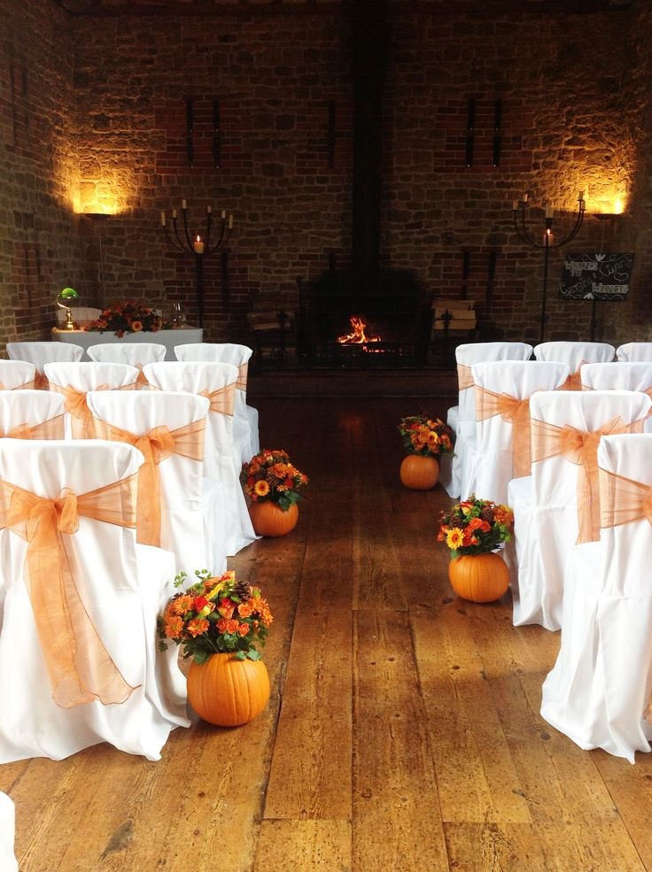 Autumn Wedding Ideas. The grounds at Pentillie Castle in Cornwall look beautiful, and are perfect for an exclusive and luxury wedding www.pentillie.co.uk