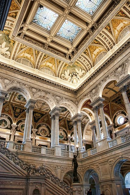Library of Congress, Washington, DC by Patrick Theiner