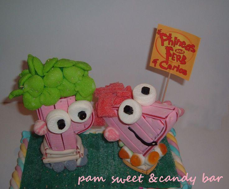 Phineas y Ferb - Tarta de gominolas
