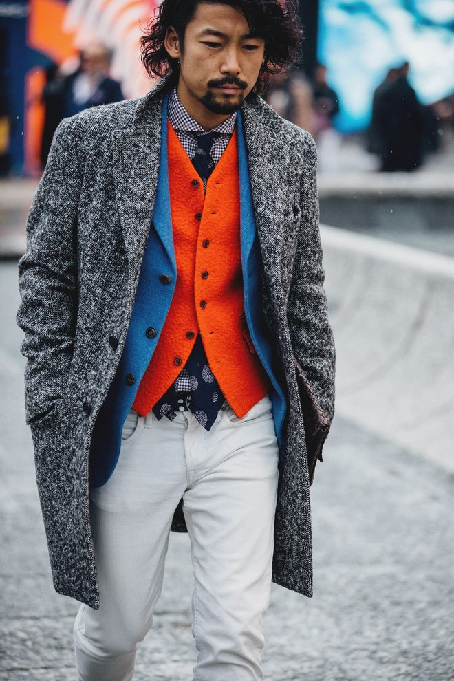Street Style à la Fashion Week homme automne hiver 2018 2019