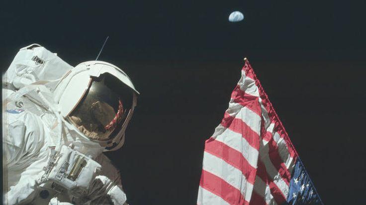 38 fotos que contam a história do homem na Lua