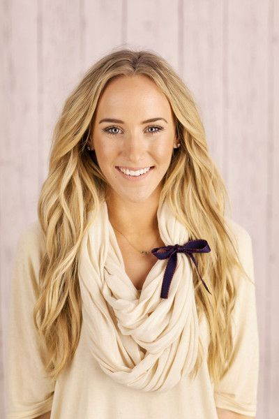 womens fashion scarves & wraps - shop infinity scarves. Love her hair too.