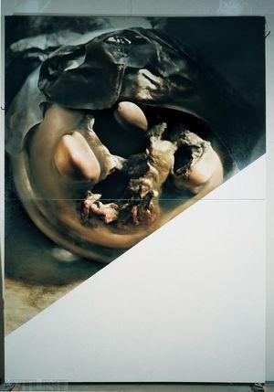 Zdeněk Beran ,,Velké obrazové torzo I. (groteskní řešení) 1994
