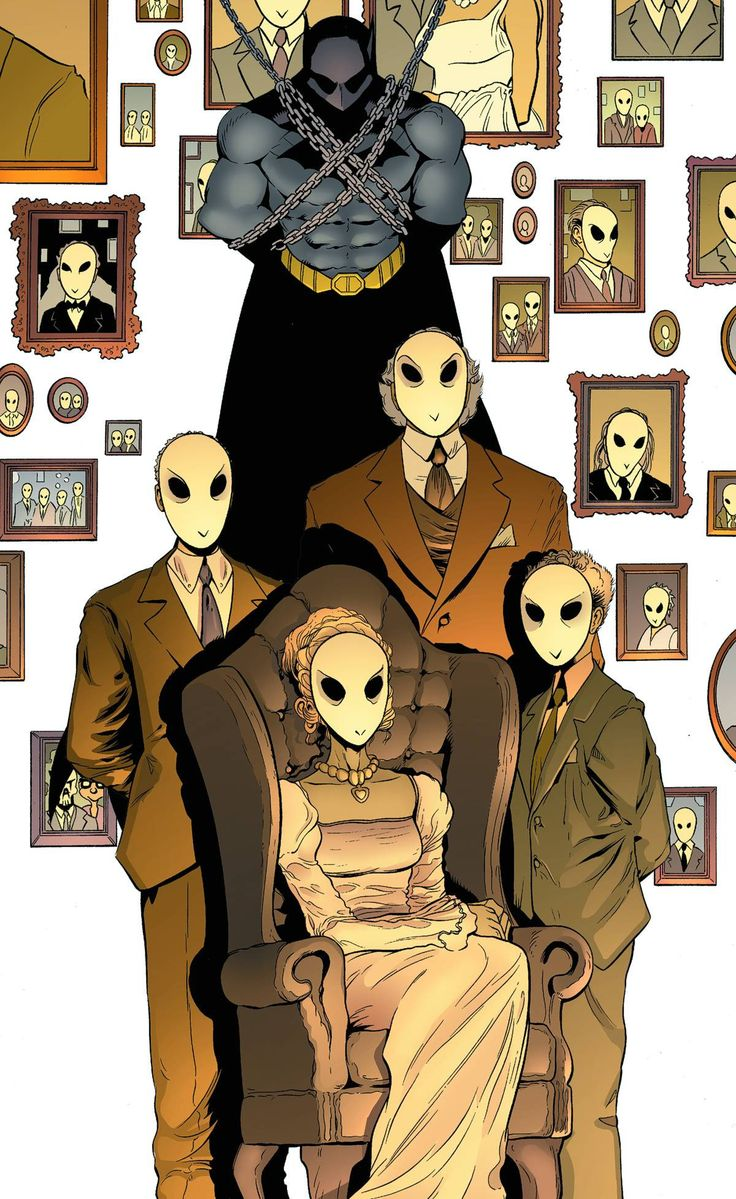 BATMAN AND ROBIN #23.2: THE COURT OF OWLS