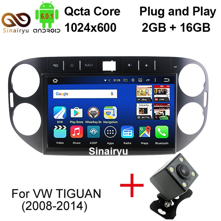 2GB/32GB 10.1 Inch Vehicle PC For Volkswagen VW Tiguan 2011 2012 2013 2014 Car DVD Player 8 Core Android 6.0.1 in-Dash Head Unit #Affiliate