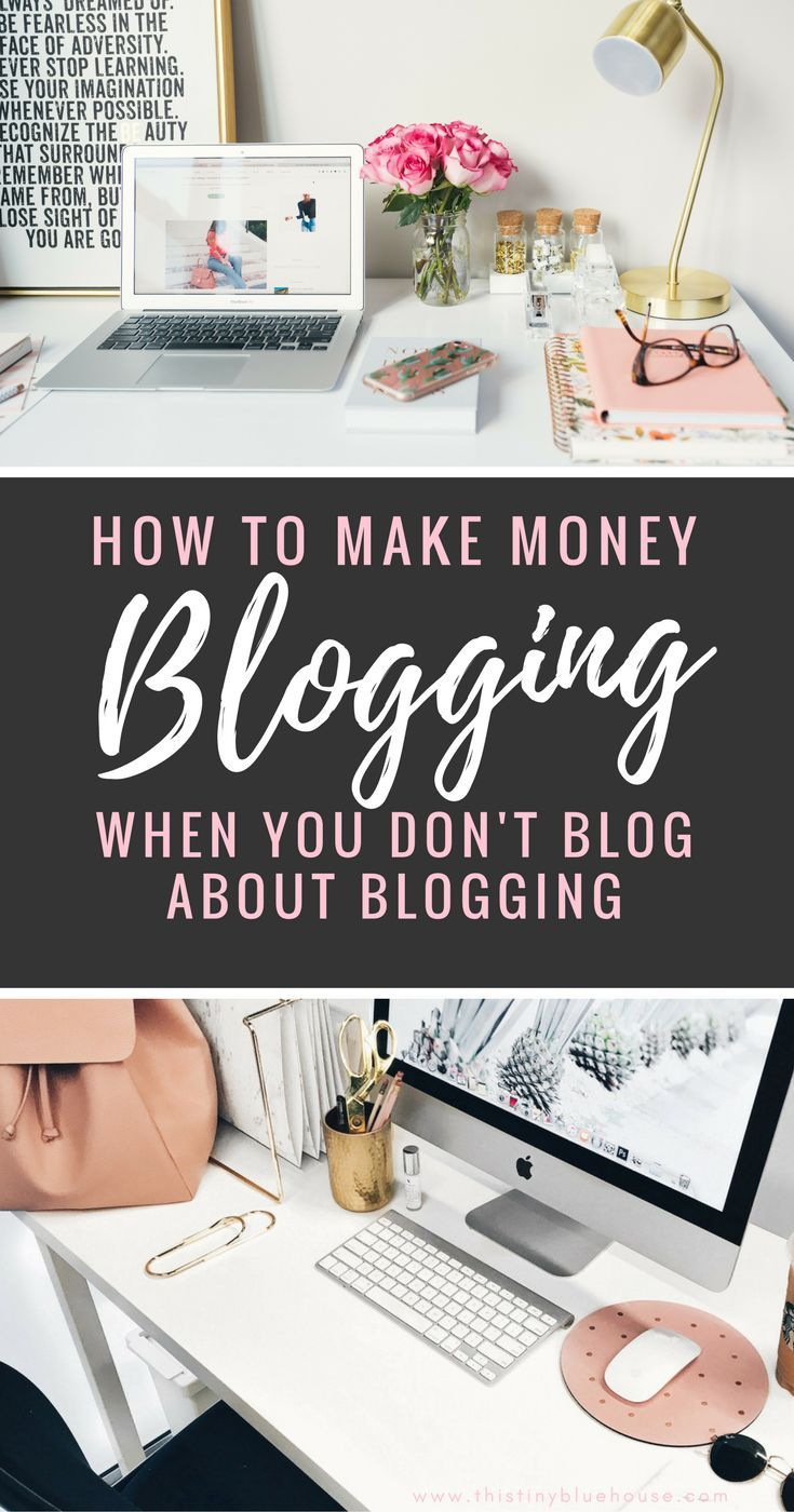 Are you looking for ways to make money blogging without blogging about blogging. Here are actionable tips and tricks to make money with your niche blog.