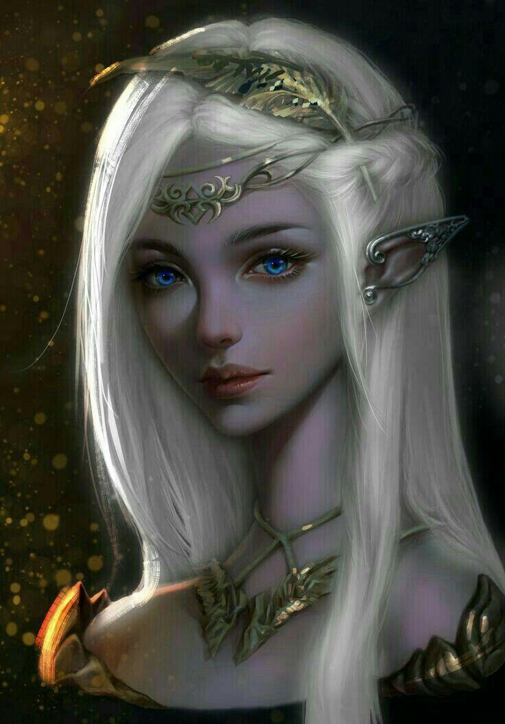 Картинки девушек темных эльфов