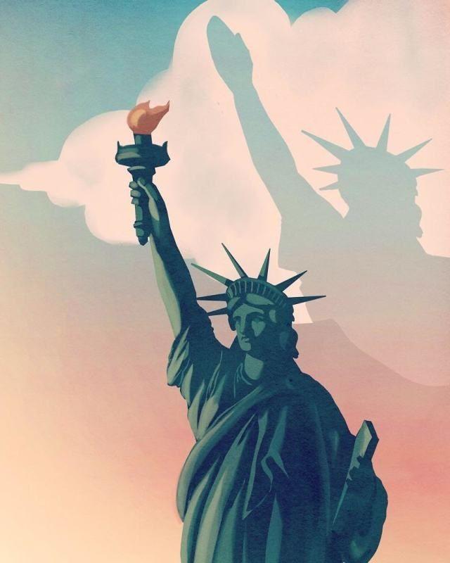 5. O que aconteceu com a América?