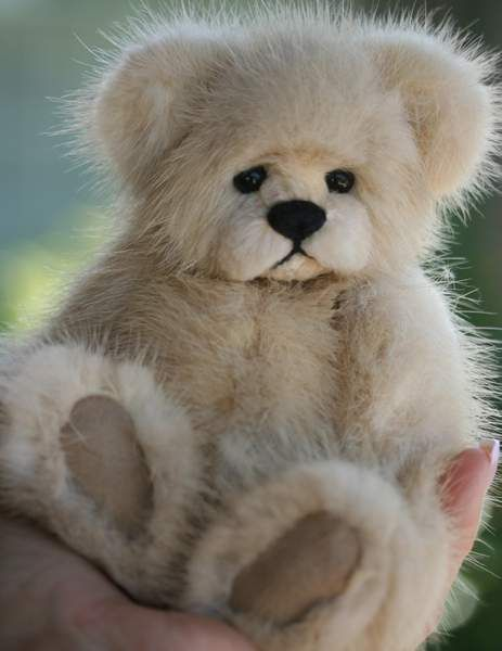 Maisey Mink Teddy Bear by Kimbearlys Originals