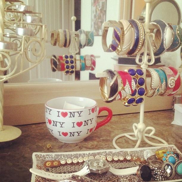 Best Jewelry Storage Images On Pinterest Jewelry - Bangle bracelet storage ideas