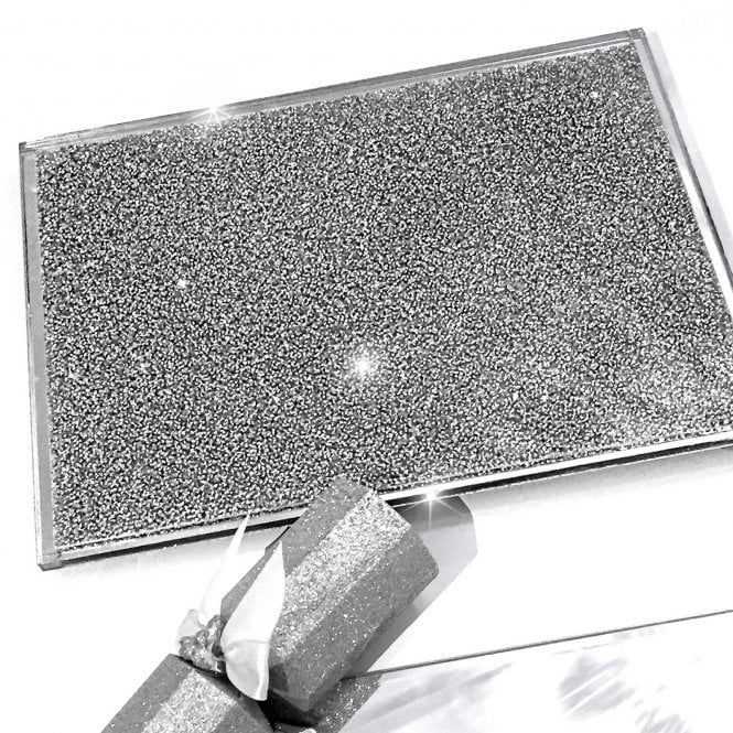 Lemonade Crystal Crush Chopping Board Large Centre Placemat Silver Placemats Crushed Diamonds Crystals In The Home