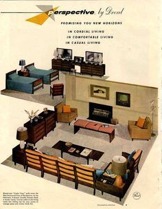 1000 images about throwback furniture advertising on pinterest mid century modern mid - Furniture advertising ideas ...