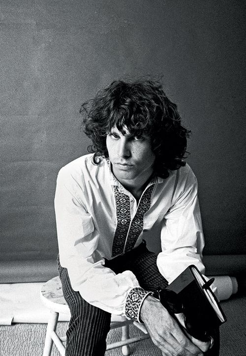 Jim Morrison photographed by Guy Webster, 1966.