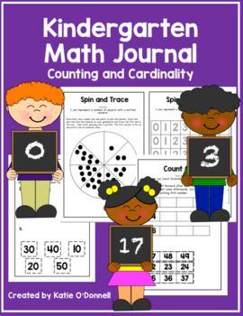 Kindergarten Math Journal: Counting and Cardinality