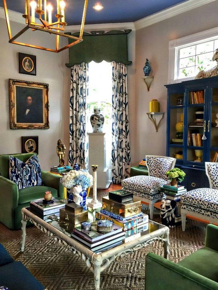 269 best Decorating with Blue & Green images on Pinterest ...