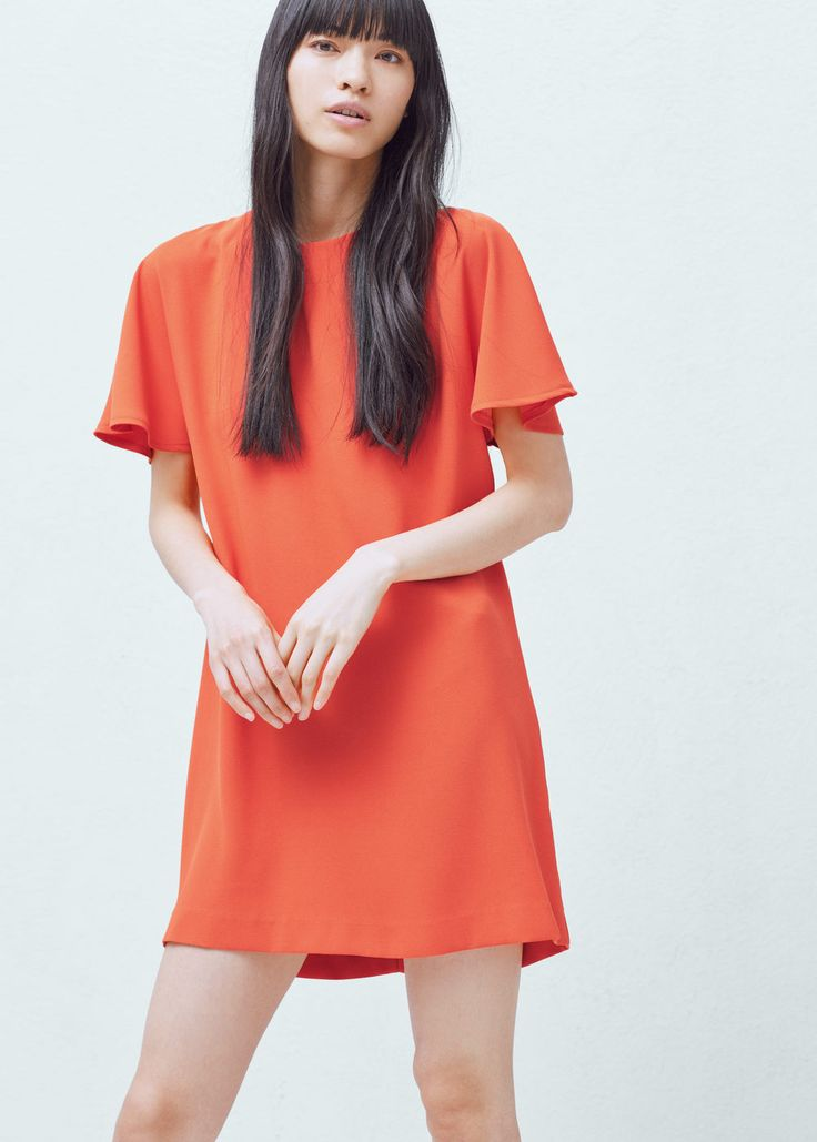 Shift dress -  Woman | MANGO Angola