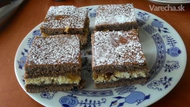 Rebarborový koláč (fotorecept)