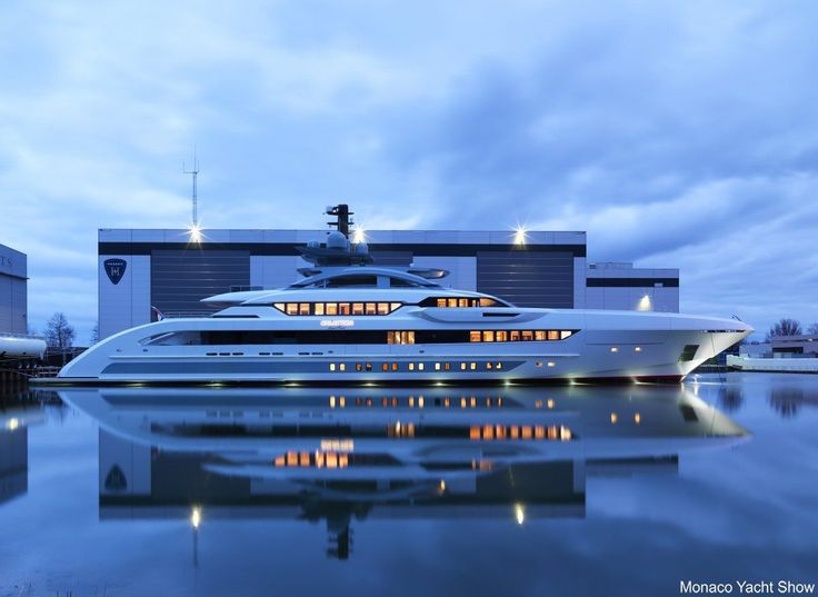 But $1 million per meter is just a starting point. Here you see the Galactica Super Nova yacht by luxury yacht manufacturer Heesen. The 70-meter (230-foot) ship will cost roughly $13 million per meter (3 feet). #luxuryyachts