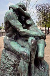 'The Embrace' 1880 Rodin