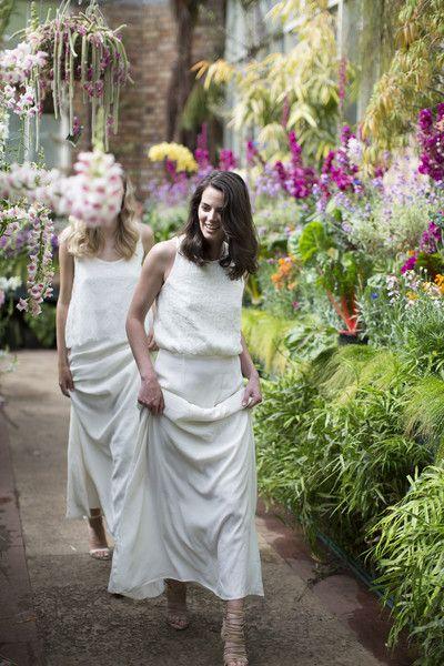 Céline Rita Bridesmaid Dresses Ivory Lace Wedding Dress Wintergardens Auckland