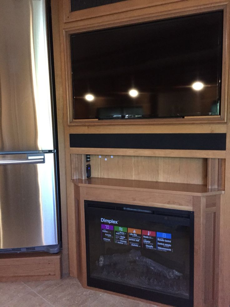 Our Sony 40 inch Tv and electric fireplace
