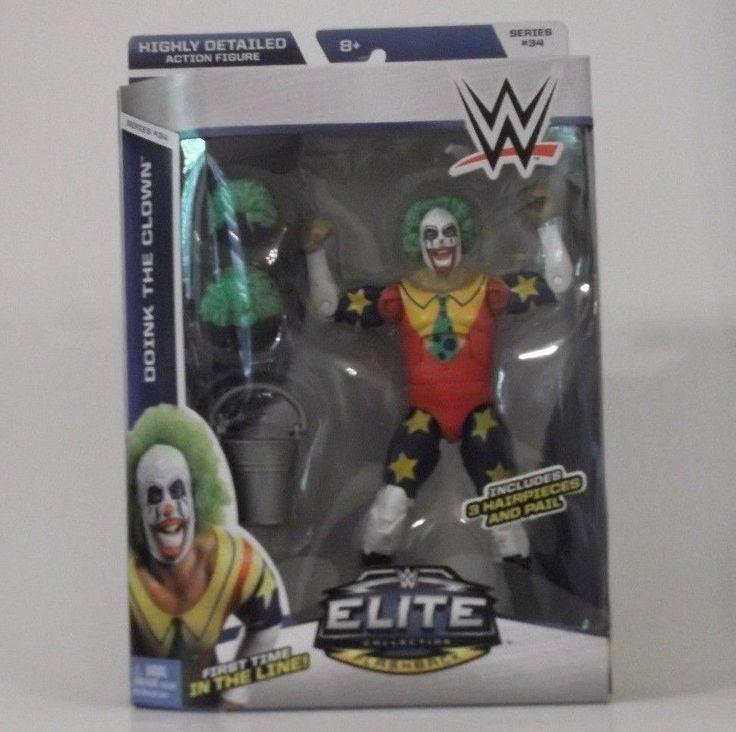 Doink the Clown - WWE Elite 34 Wrestling Action Figure Toy Mattel BRAND NEW #Mattel