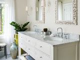 awesome Room of the Day: Bye-Bye, Black Bidet — Hello, Classic Carrara (8 photos)