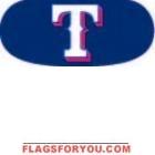 Rangers Decorating 6 Eye Black Strips Per Pack